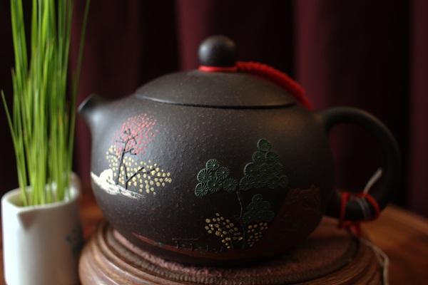 Ấm trà gốm tử sa - Shop Tĩnh Tâm Quán