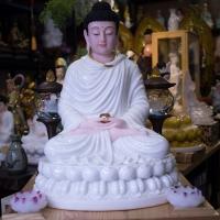 Tượng Phật Đẹp Bổn Sư Thích Ca Đá Thạch Ngọc 6