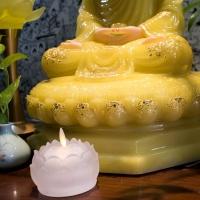 Tượng Phật Bổn Sư Thích Ca Đẹp Bột Đá Thạch Anh (50cm)5