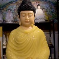 Tượng Phật Thích Ca Đá Thạch Anh 128cm (5)