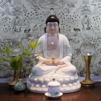 Tượng Phật Di Đà Đá Thạch Ngọc Đài Loan Cao 50cm1