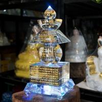 Tháp Xá Lợi Phật Thủy Tinh Cao Cấp 28 cm 3