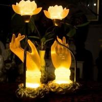 Đèn thờ Ấn Thủ Liên Hoa 1