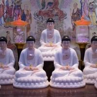 Bộ Tượng Thất Phật Dược Sư Đá Ép Cao Cấp 30cm (TCA032019)9