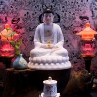 Tượng Phật Dược Sư Bột Đá Đài Loan Ngồi Tĩnh Tâm (TCA032019)1
