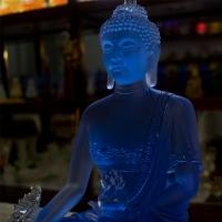 Tượng Phật Dược Sư Như Lai Đá Lưu Ly 36cm1