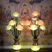 Đèn thờ hoa sen 7 bông5