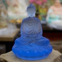 Tượng Phật Thích Ca để xe ô tô 12cm1 (4)