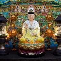 Tượng Mẹ Quan Âm Bồ Tát Composite Đài Loan vẽ màu cao cấp(68cm)1