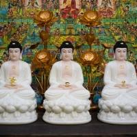 Phật Thích Ca Phật A Di Đà Phật Dược Sư 40cm1