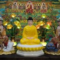 Phật Hoa Nghiêm Tam Thánh 50cm1